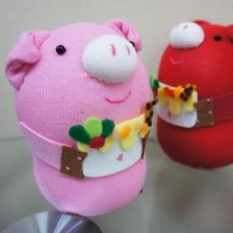 創作款:蛋糕豬