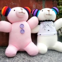 創作款:幸福小熊