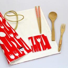 開飯吧!隨身餐具袋