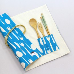 開飯吧!隨身餐具袋 (三色)