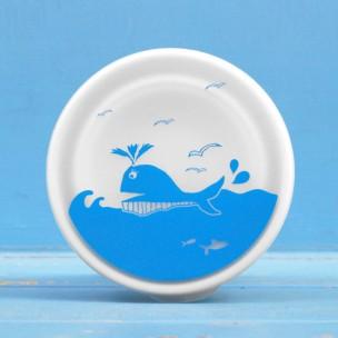 大肚子裡的便當晚餐|鯨魚伸縮矽膠碗
