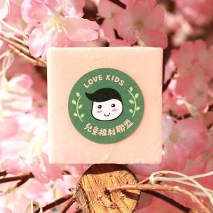 愛心手工皂 │ 粉嫩櫻花皂
