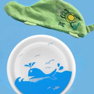 給孩子一個美好的地球|海龜x鯨魚組合