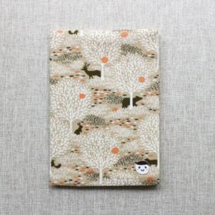 可調式書衣 | 白樺森林-大地棕