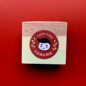 愛心手工皂 │ 忍冬聖誕牛奶皂