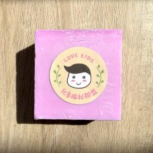 愛心手工皂 │ 紫藤花開皂